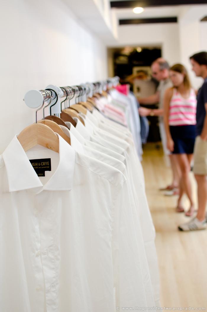 Shirt Lineup