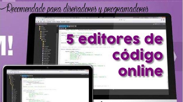 Una lista de editores de codigo en línea