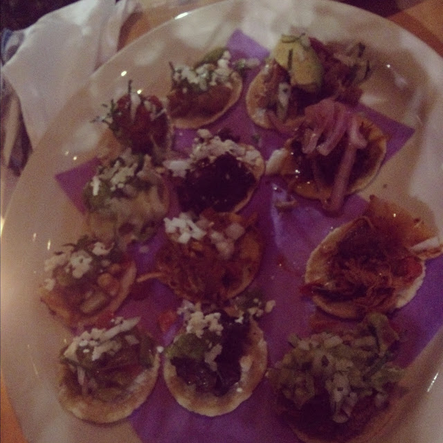 mini tacos at Loteria Grill