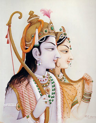 Sita-Rama, the best couple