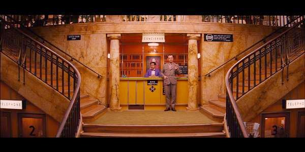 Screen Shot Of Hollywood Movie The Grand Budapest Hotel (2014) Download And Watch Online Free at Alldownloads4u.Com