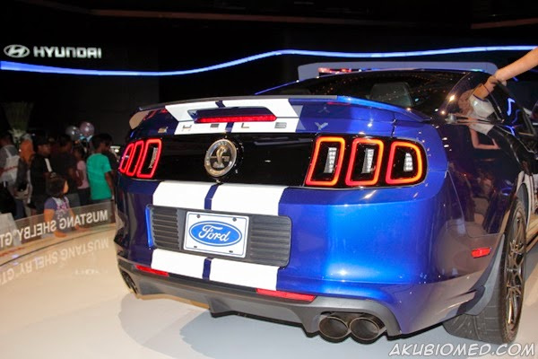 Ford Shelby GT500 KLIMS 2013 rear