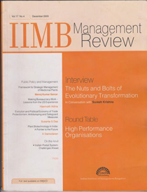 BioGov: IIBM Management Review
