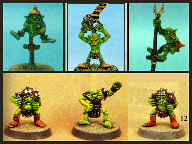 Goblins segunda edición Blood Bowl