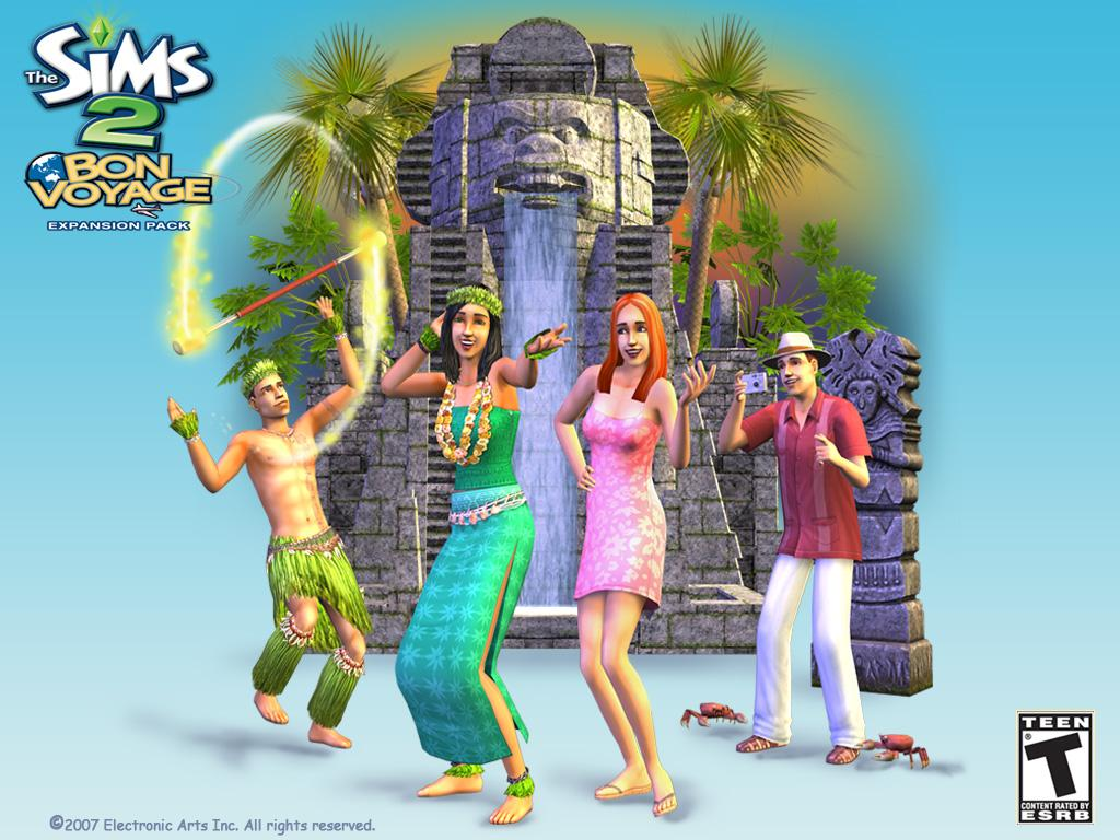 sims 2 bon voyage how to go on tour