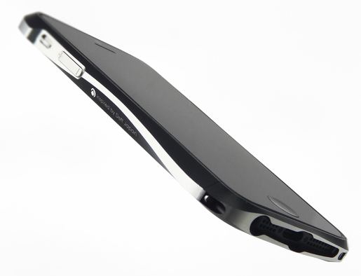 Deff CLEAVE ALUMINUM BUMPER for iPhone5 メテオブラック