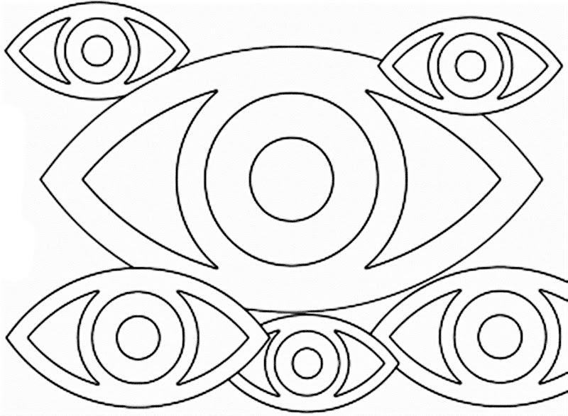 Día del oftalmólogo para colorear, pintar e imprimir