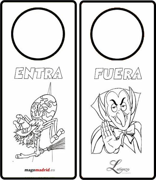 Colgador para puertas de halloween mago madrid for Colgadores para puertas