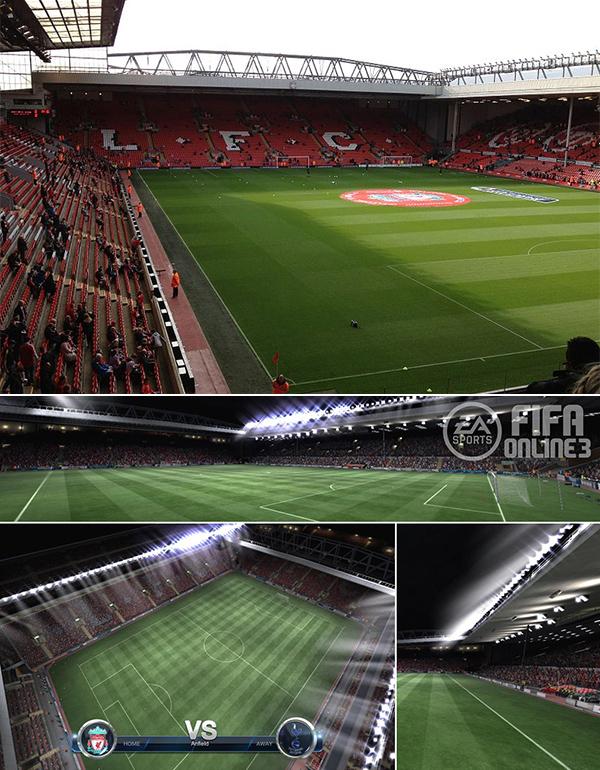 Chiêm ngưỡng các sân vận động trong FIFA Online 3 2