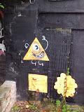 springendes Dreieck