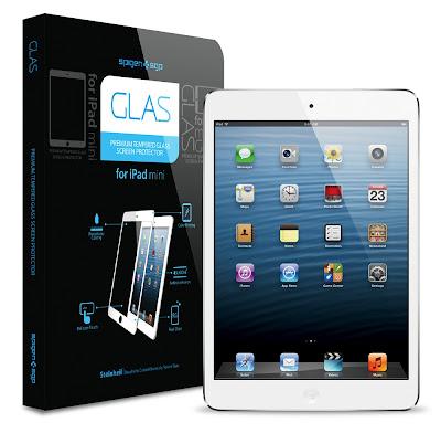 SPIGEN SGP iPad mini シュタインハイル GLAS スクリーンプロテクター ホワイト