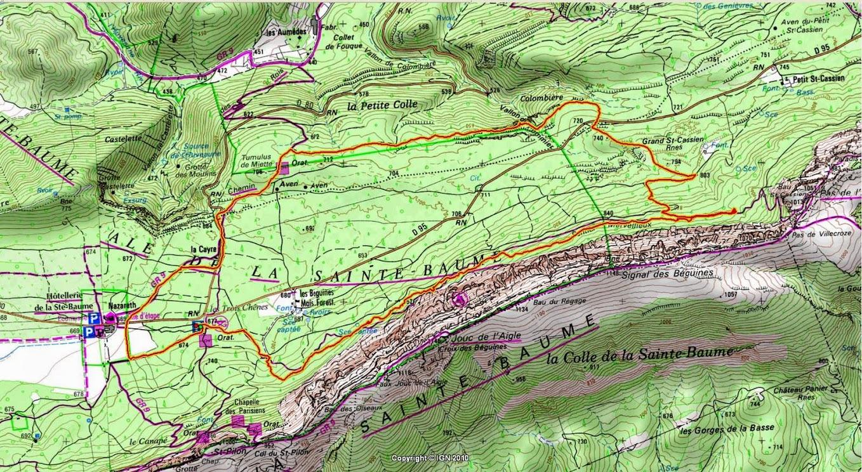 Randonnées des 3 Clubs du 11 avril 2015-Circuit vert de 13 Km 001