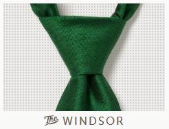 Cara memasang dasi model Windsor