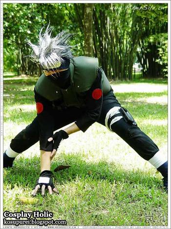 naruto cosplay - hatake kakashi 3