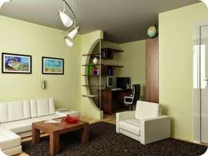 оформление маленькой квартиры