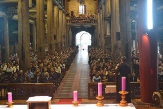 Nghe bài giảng tĩnh tâm Mùa Chay 2015 của Đức Cha giáo phận