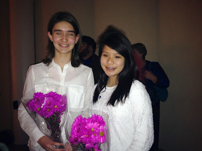 Ginnie & Madelyn performed in All-State Orchestra - February 2014