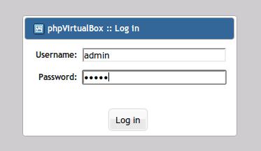 phpvirtualbox