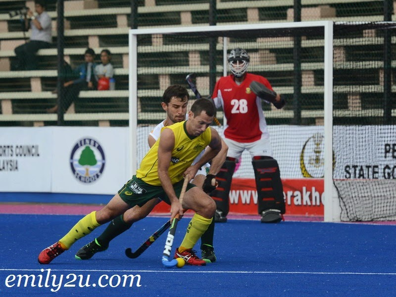 23rd SAS Cup 2014: Day 4 – Australia (7) – South Africa (0)