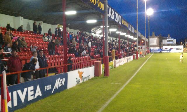 trybuna główna Shelbourne FC