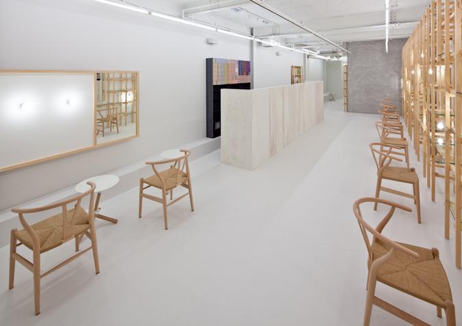 # end...Link 空間連結:Yasunari Tsukada在日本大阪的簡約木框架沙龍! 3
