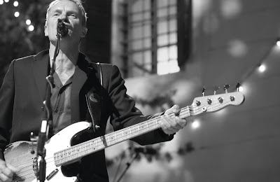 Sting performing in Stockholm this spring.