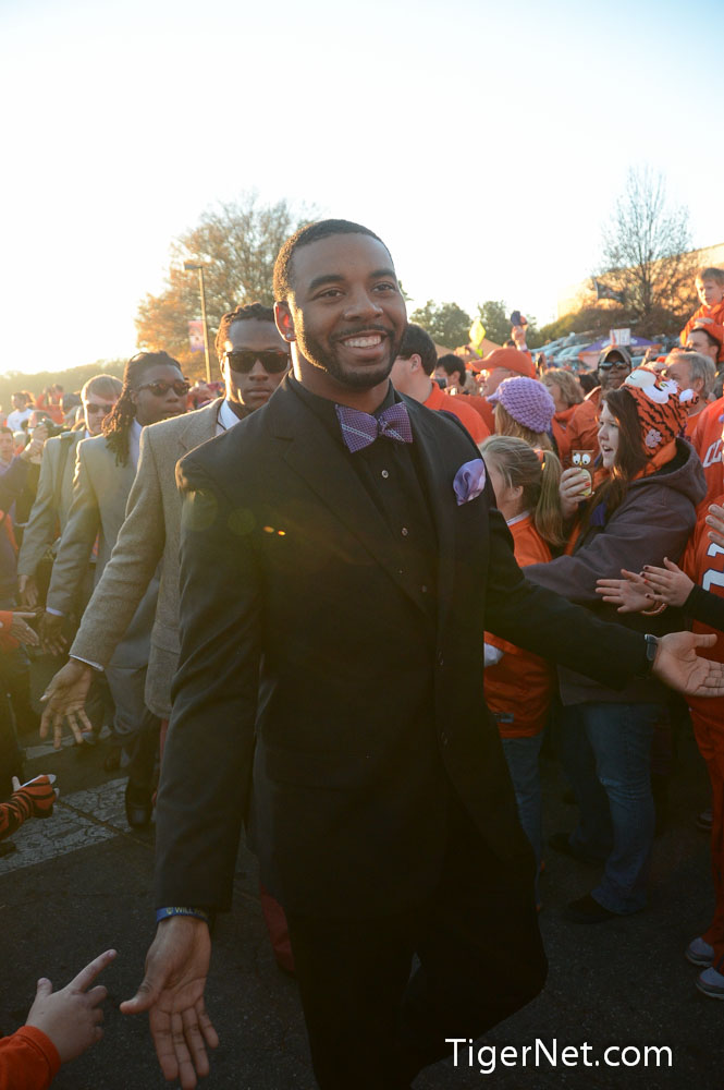 Clemson vs. South Carolina - Tiger Walk Photos - 2012, Football, South Carolina, Tajh Boyd, Tiger Walk