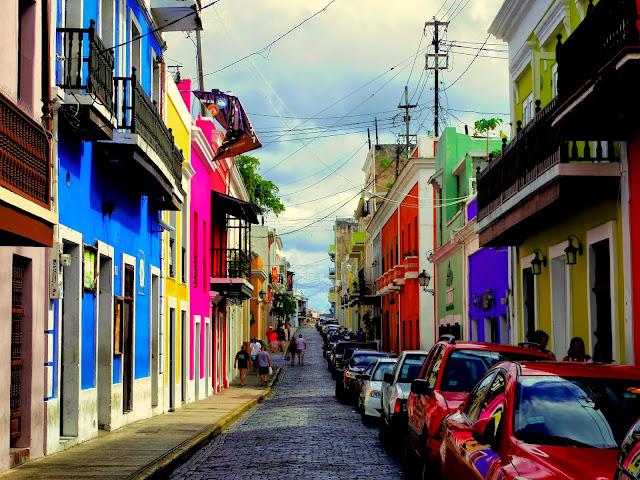 プエルトリコ】 サンフアンの旧...