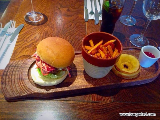 Chef and Brewer Game Burger