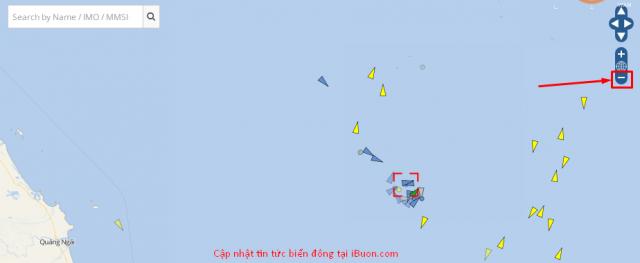 cập nhật hình ảnh vệ tinh biển đông