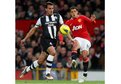 Javier Hernandez, Manchester United - Newcastle