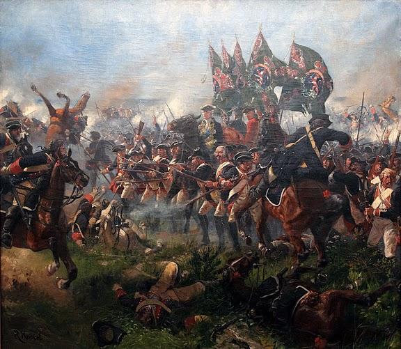 die Schlacht bei Krefeld