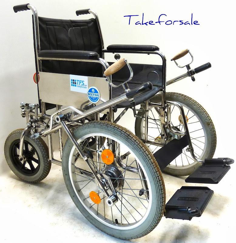 rollstuhl meyra handhebelrollstuhl mit beidseitigem handantrieb tfs340 ebay
