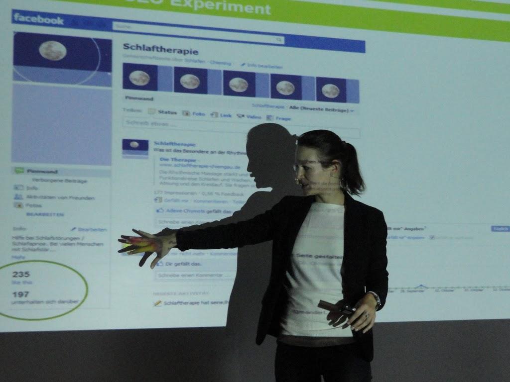 Anna-Lena Radünz Facebook-Vortrag SEO-Day 2011