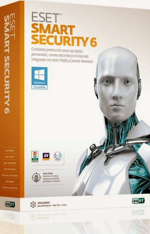 Free Download Latest Version of ESET Smart Security v.6.0.314.0 Incl. Crack Antivirus Software at Alldownloads4u.Com