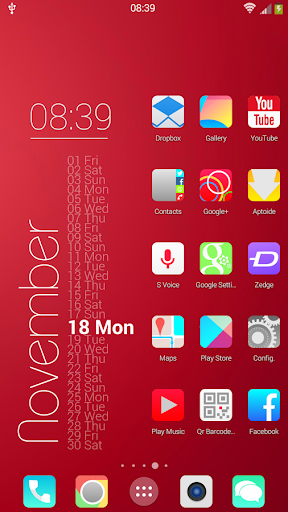 KitKat HD Launcher Theme icons v2.2 for Android