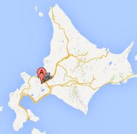 八剣山ワイナリー・地図
