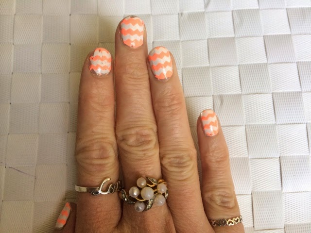 chevron-nail-art-models-own-polish-for-tans