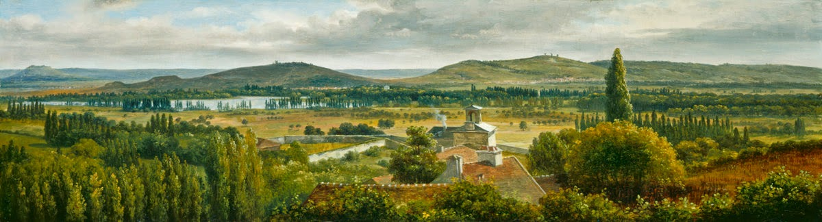 Théodore Rousseau - Panoramic View of the Ile-de-France