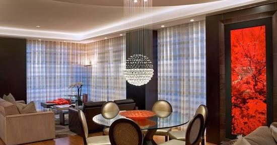 11 pilihan model desain lampu ruang tamu yang memukau