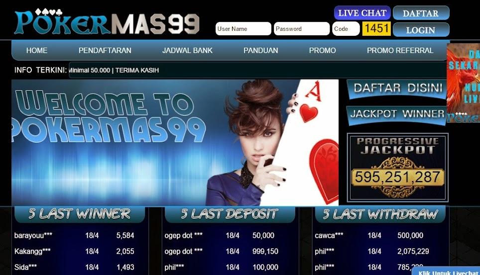 Daftar PokerMas99