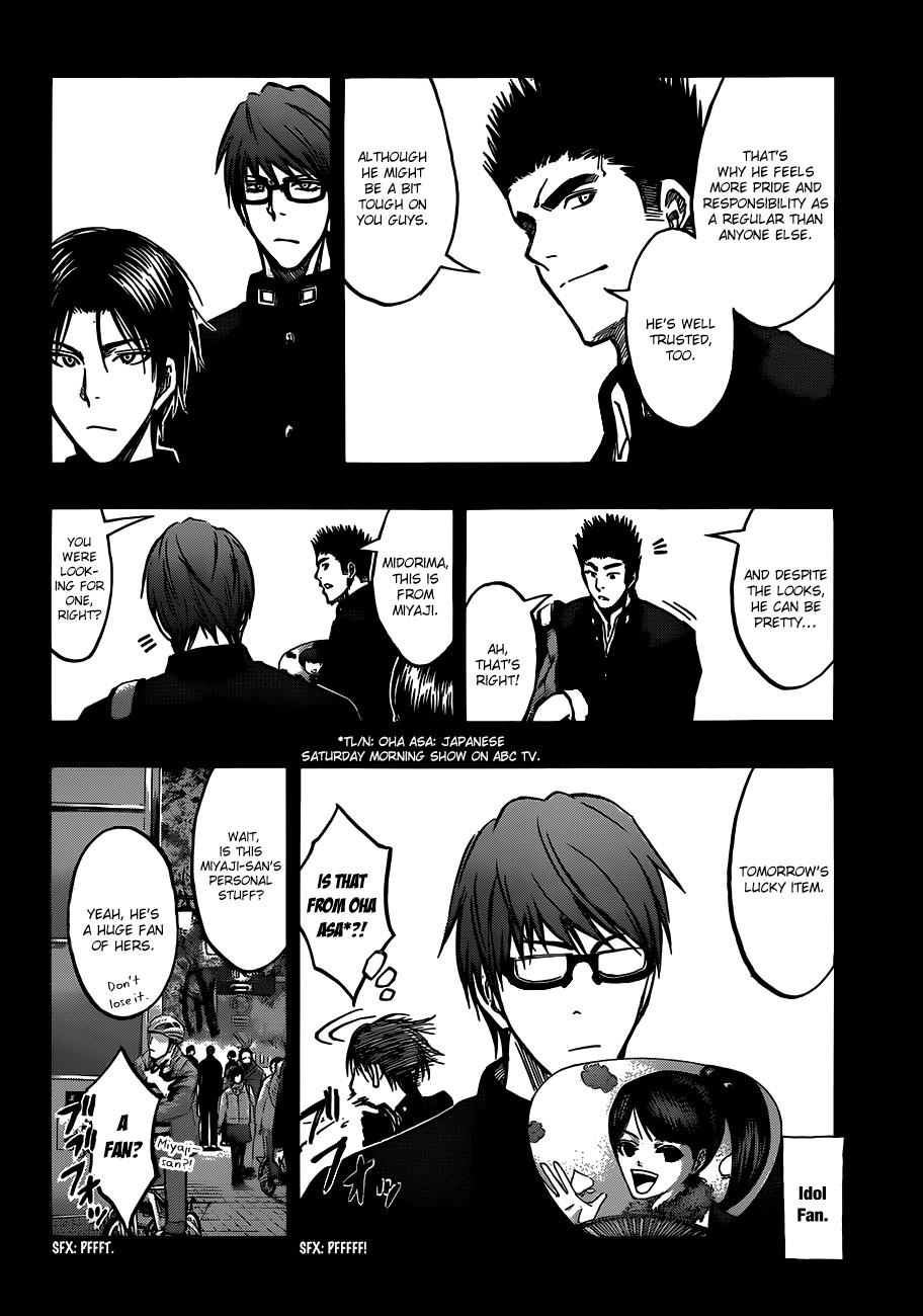 Kuroko no Basket Manga Chapter 177 - Image 04