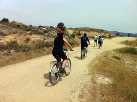 Ruta en bici de Madrid a Manzanares el Real por el GR-124, junio 2012