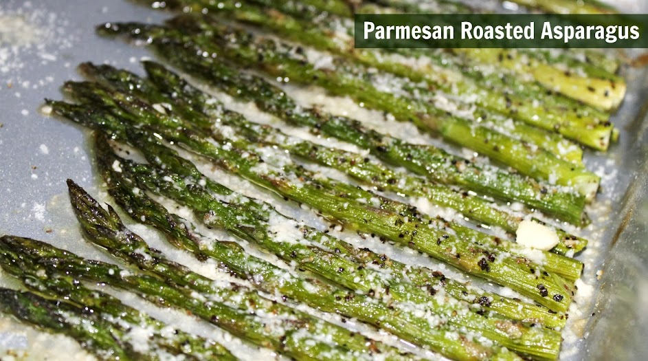 Parmesan Roasted Asparagus Recipe