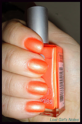 pop nail polish ablaze swatches and review