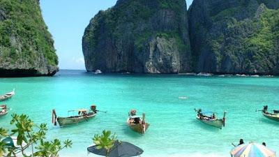 Maya Beach, Phi Phi Island, Thailand
