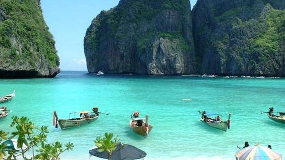 Maya Beach, pulau Phi Phi, Thailand - 10 pantai terindah dunia