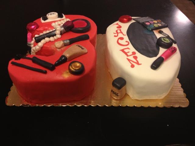 Kerrys Kakes in PA Number Cake Mac Theme