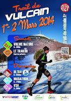 Affiche Trail de Vulcain 2014