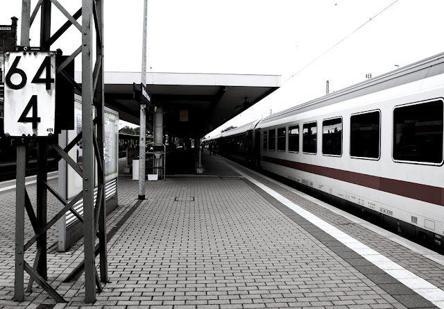 A train station in Germany